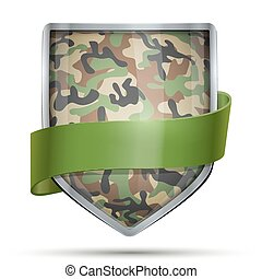Shield with flag Camouflage - Shield with Camouflage....