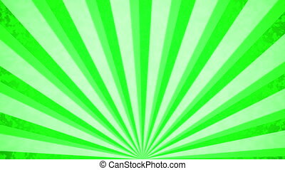 """Green Sun burst retro background"""