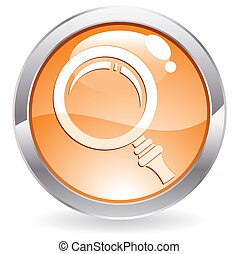 Gloss Button with magnifier