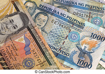Philippine Banknotes - Philippine banknotes one thousand and...