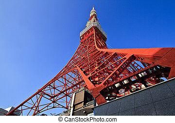 Tokyo Tower is a communications tower located in Shiba Park,...
