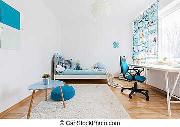 Spacious room for your kid - Shot of a spacious cosy...
