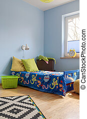 Young children love bright colours - Shot of a modern...