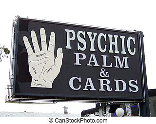 psychic palm sign