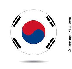 South Korea flag  - South Korea flag