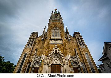The Sacred Heart Church, in Concord, New Hampshire