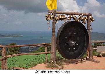 Thai gong in Phuket