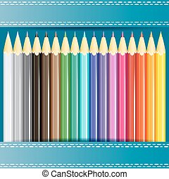 Collection of pencils.