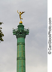 Colonne de Juillet, the July Column, Place de Bastille - Top...