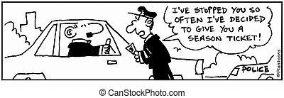 Automobile Cartoon