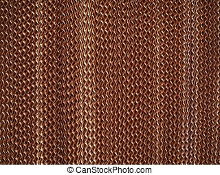 Air Filter Closeup - Texture of an air filter made from...