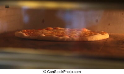 Italian Pizza in oven - Italian Pizza in electric oven