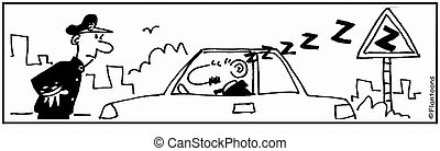 Automobile Cartoon - cartoon humor humour funny, vehicle,...