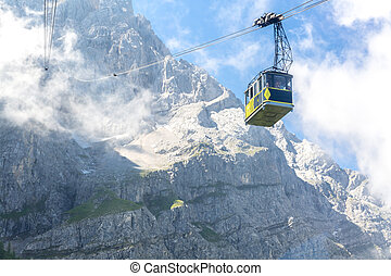 Zugspitze Germany - Zugspitze Alpine Alps Cable car to top...