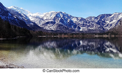 Beautiful Bohinj lake mobile photo - Beautiful Bohinj lake...