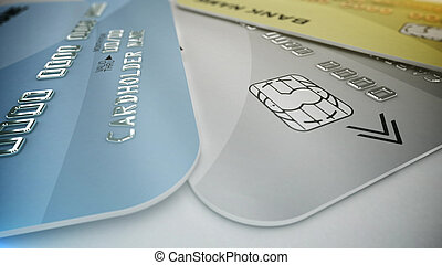 Color credit cards