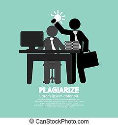 Plagiarize Concept.