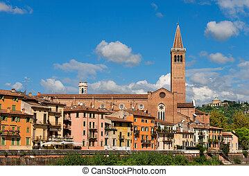 Church of Santa Anastasia - Verona Italy