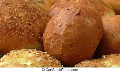 Wholemeal breads and rolls