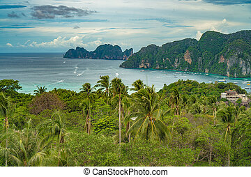 phiphi island view point - View Point Koh Phi Phi Don in...
