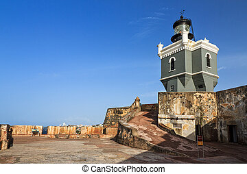 Lighthouse San Felipe Del Morro - Beautiful view of fort San...