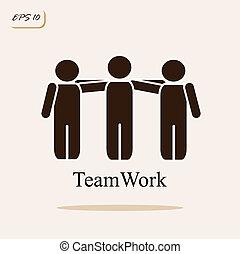 teamwork. business