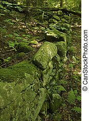 Stone Fence, Greenbrier, Smokies - Stone Fence, Greenbrier...