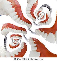 Denture Model Droste
