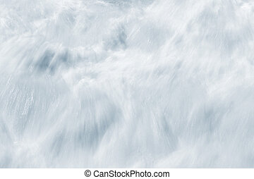 Whitewater Abstract - An abstract, long exposure of...