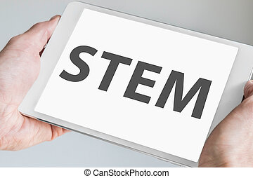 STEM (science, technology) concept