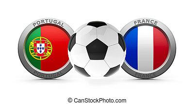 portugal,  -, Frankreich,  2016, finale,  vs,  Euro