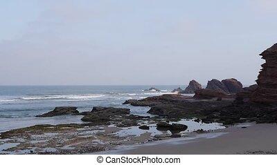 Sea costline, Morocco Africa - Sea costline