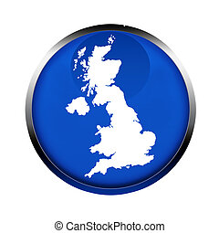United Kingdom map button in the colors of the European...