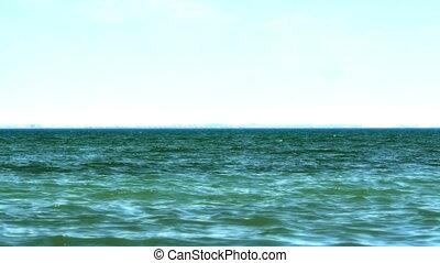 wave open sea 4k