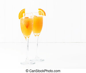 Mimosa - The cocktail known as a mimosa contains orange...
