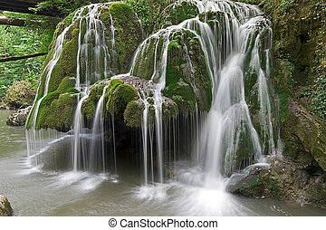 Bigar waterfall, Romania 1 - Waterfall Bigar in summer...