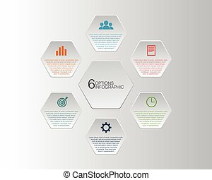 Infographic design element modern information template vector illustration