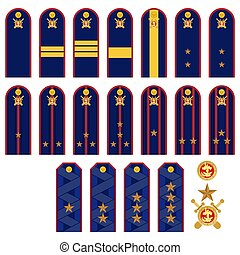 Insignia RF police - Insignia police officers in Russia. The...
