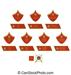 Insignia troops of the NKVD - Insignia of military units of...