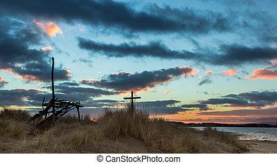 Sand Dune Shelter Cross