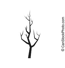 Dry Tree icon Nature design Vector graphic - Nature and...