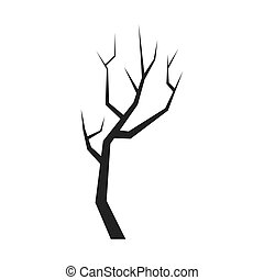 Dry Tree icon. Nature design. Vector graphic - Nature and...