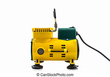 Mini air compressor.