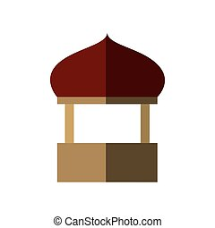Temple icon Indian Culture design Vector graphic - Indian...
