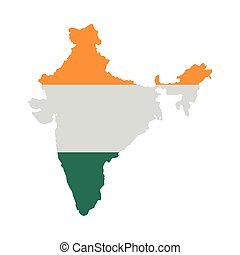 map icon. Indian Culture design. Vector graphic