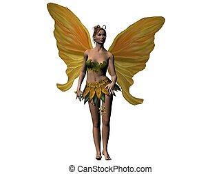 Fairy - Raytraced fairy