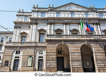 La Scala is an opera house in Milan, Italy. Cultural...