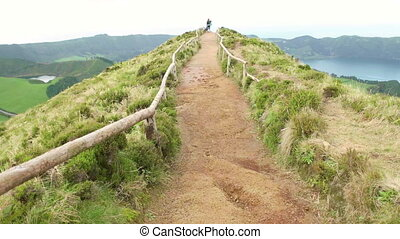 Walking on the Sete Cidades - An experience of walking on...