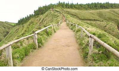 Walking From the Sete Cidades - An experience of walking...
