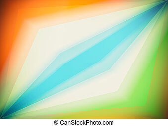 Triangular shapes, colorful geometric abstract background.